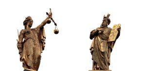 Justitia und Moses